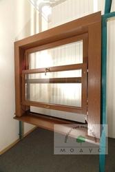 Английские слайдовые деревянные окна (HAWA Vertical)