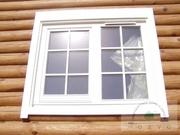 Деревянные окна в срубы от Модус Днепропетровск