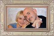 Портрет на холсте - печать на заказ по фото