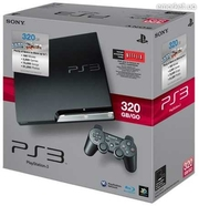 Новая sony playstation 3 slim 320 gb + 20 игр.прошитая