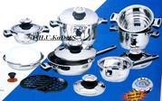 Элитный набор высококачественной посуды Bachmayer SOLINGEN и ножей