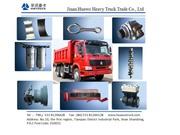 частей HOWO грузовик