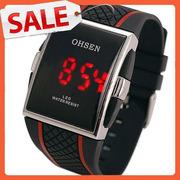 Мужские цифровые спортивные  LED часы OHSEN