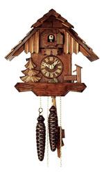 Механические часы с кукушкой. Ручная работа.