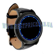 LED часы с сенсорным экраном
