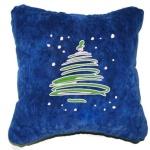 Оригинальные новогодние подушки с вышивкой (гипоаллергенные)