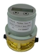 Счетчик контроля расхода топлива,  жидкости (счетчик топлива,  расходоме
