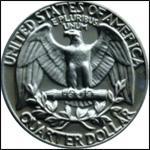 Продам монету Quarter Dollar 1970 года