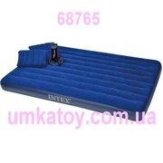 Надувной набор Intex 68765 матрас,  подушки и насос