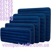 Велюровые надувные матрасы Intex 68755,  68757,  68758,  68759,  68950