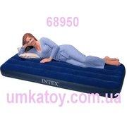 Надувной матрас велюровый Intex (Интекс) 68950