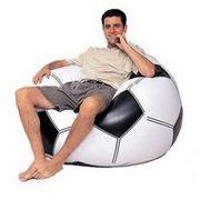 Кресло в виде футбольного мяча (Евро 2012). Купить в Днепропетровске.
