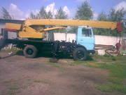 Автокран МАЗ-5337 КС-3577-3-1989гв.