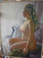 Картина «Дева в бане».