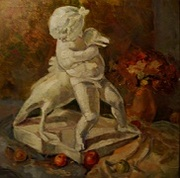 Картина «Мальчик с гусем».