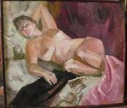 Картина «Дева на отдыхе».