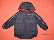 Детская куртка Джордж б/у,  р. 1 - 1, 5 года Днепропетровск