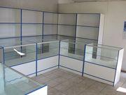 Изготовим торговые стеллажи,  прилавки,  витрины из ДСП,  системы джокер
