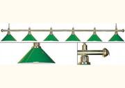 Бильярдный светильник 6-ти ламповый,  пр-во Китай