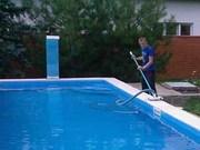 Обслуживание бассейна,  чистка бассейна