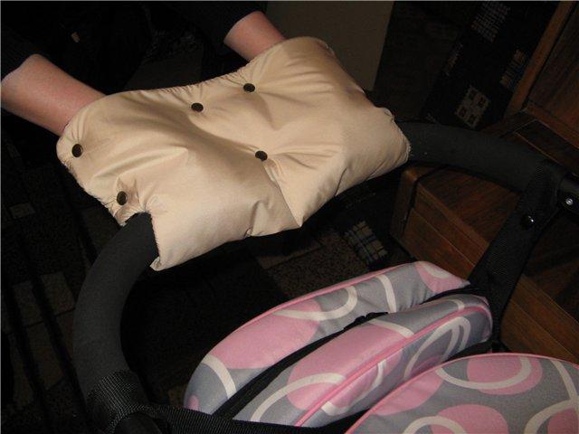 Как сшить муфту для рук на коляску