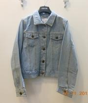Продам джинсовый пиджак на девочку,  рост 140 см