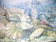 Роспись стен Украина Днепропетровск Киев фрески барельефы декоративные