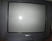 Продам телевизор Samsung CS-21d9rс кронштейномTV/DV цена за всё вместе