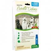 SENTRY НАТУРАЛЬНАЯ ЗАЩИТА капли от блох и клещей для собак и щенков