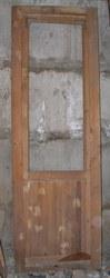 Дверь балконная,  дерево