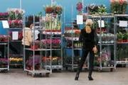 Тролли(тележки) для цветов и рассады