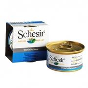 Schesir ТУНЕЦ в собственном соку (Tuna Natural Style) влажный корм кон