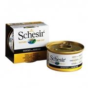 Schesir ТУНЕЦ С СУРИМИ (Cat Tuna Surimi) влажный корм консервы для кош