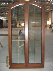 Окна современные из дерева