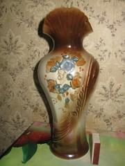 Керамическая ваза 80е