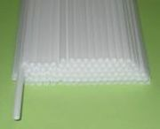 Палочки трубочки пластиковые для флажков,  сахарной ваты и шариков