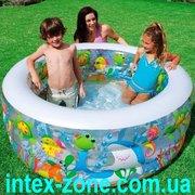 Продаем детский надувной бассейн Intex 58480 Аквариум