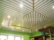 Металлические потолки (алюминиевая вагонка)