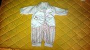 Красивая и качественная детская одежда для девочки 0-6 мес