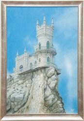 Картина маслом Ласточкино гнездо