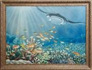 Картина маслом Окно в океан