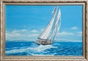 Картина маслом Прогулка на яхте