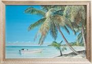 Картина маслом Райское побережье