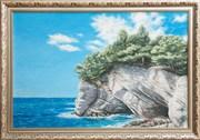 Картина маслом Скалистый берег