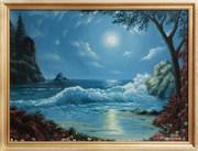 Продам картину маслом Море в лунном свете