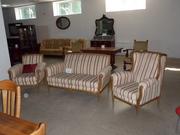 Антикварный комплект мягкой мебели