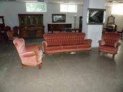Антикварный комплект мягкой мебели 2