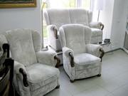 Антикварный комплект мягкой мебели 3
