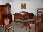Антикварный гостиный набор Барокко
