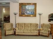 Антикварный комплект мягкой мебели 1